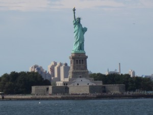 Statue of Liberty landscape